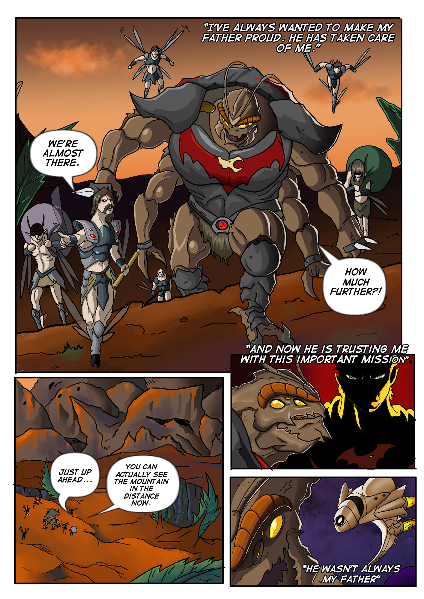 Prologue to A Song of Heroes – Page 1
