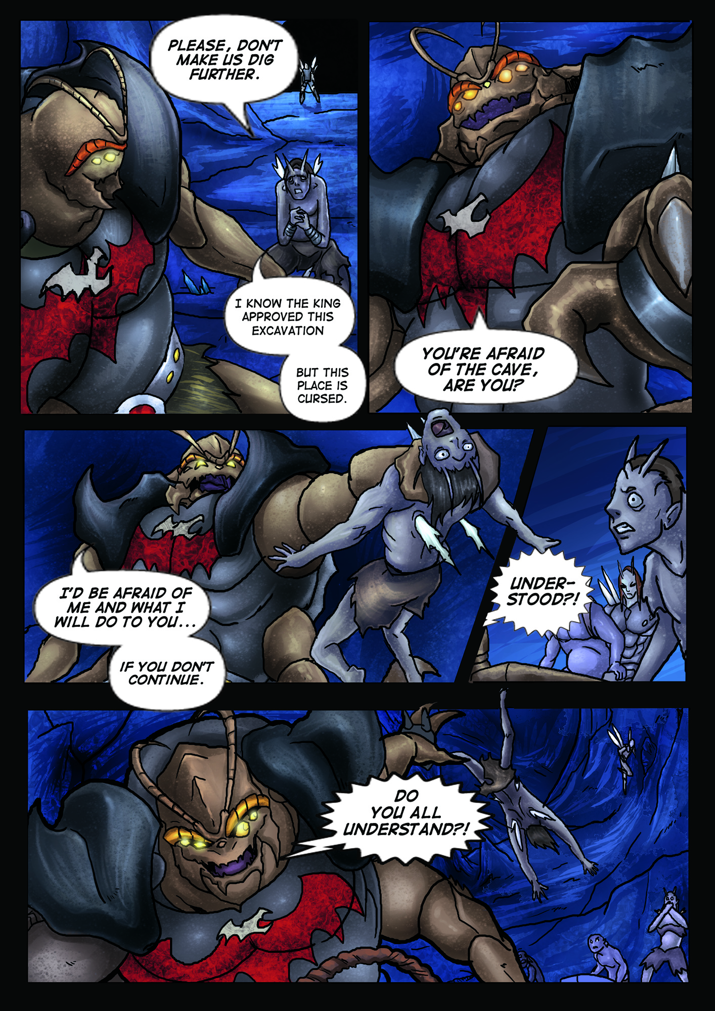 A Song of Heroes – Issue 1 – page 2