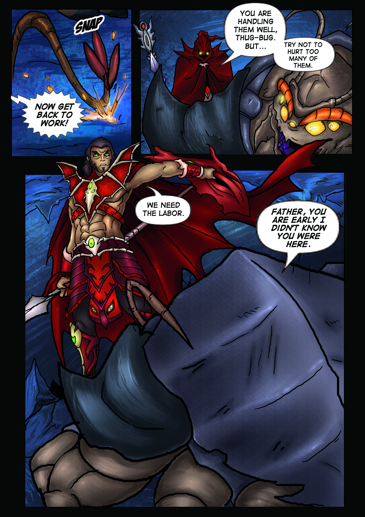 A Song of Heroes – Issue 1 – Page 3