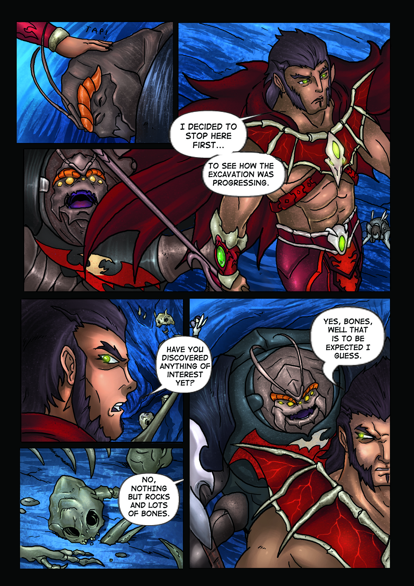 A Song of Heroes – Issue 1- Page 4