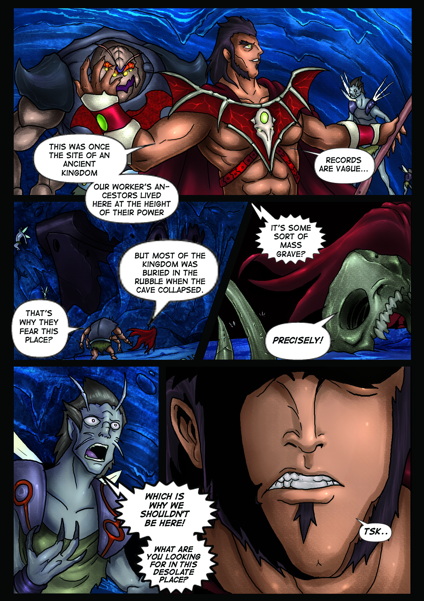 A Song of Heroes – Issue 1 – Page 5