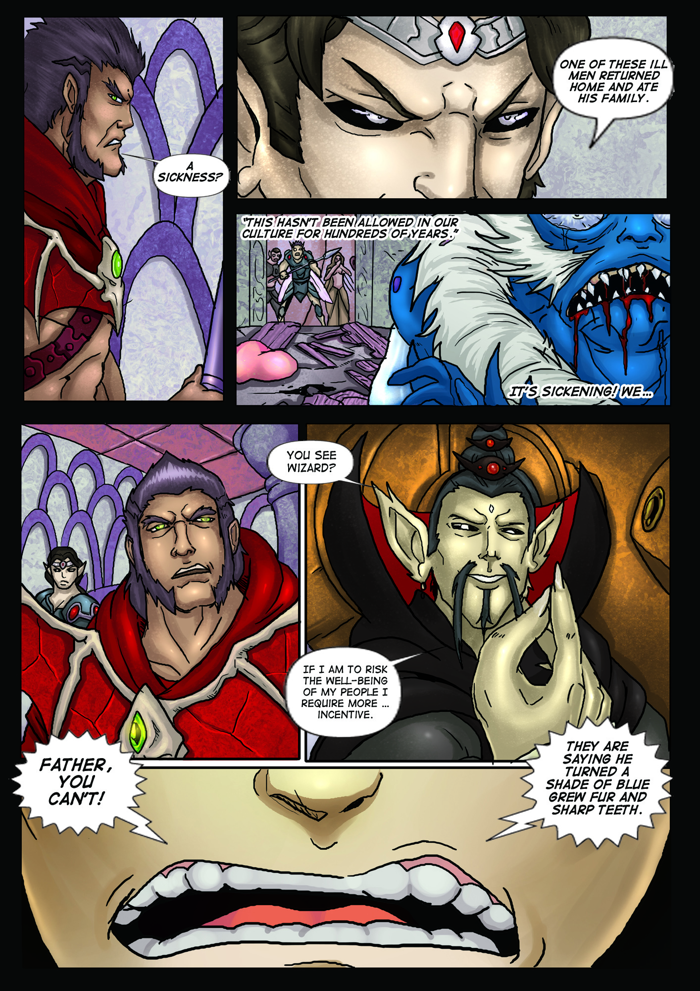 A Song of Heroes – Issue 1 – Page 18
