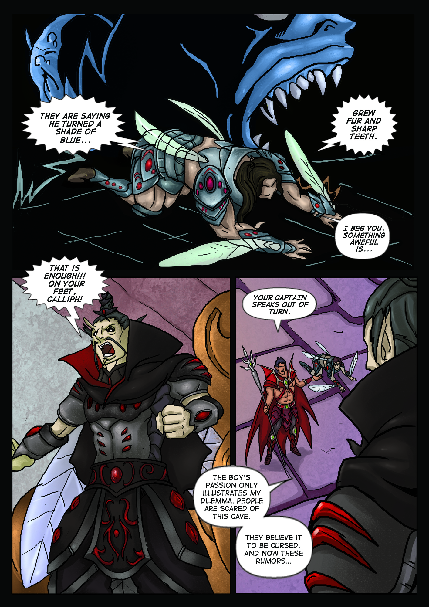 A Song of Heroes – Issue 1 – Page 19