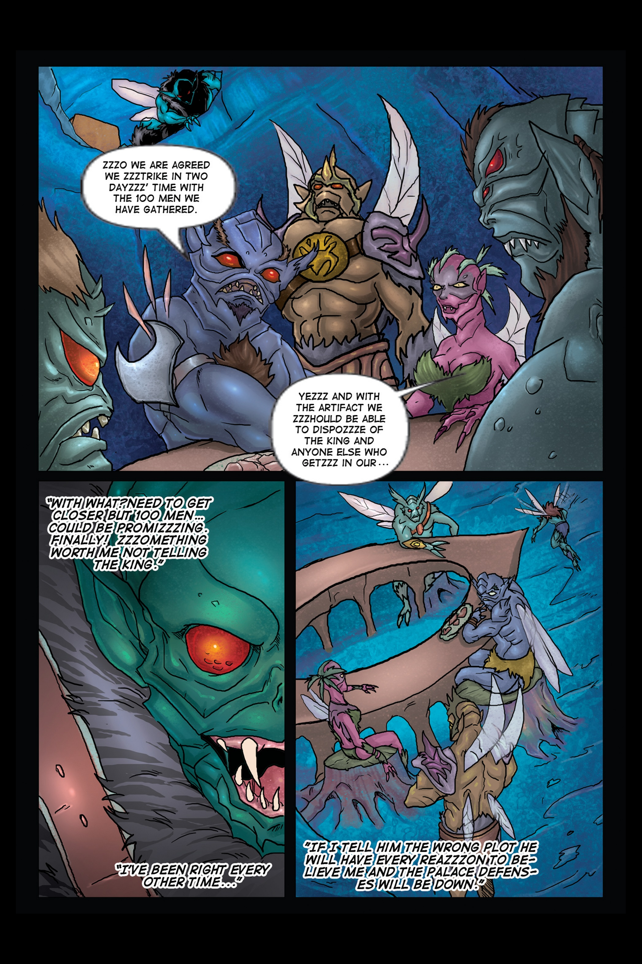 A Song of Heroes – Issue 1 – Page 24