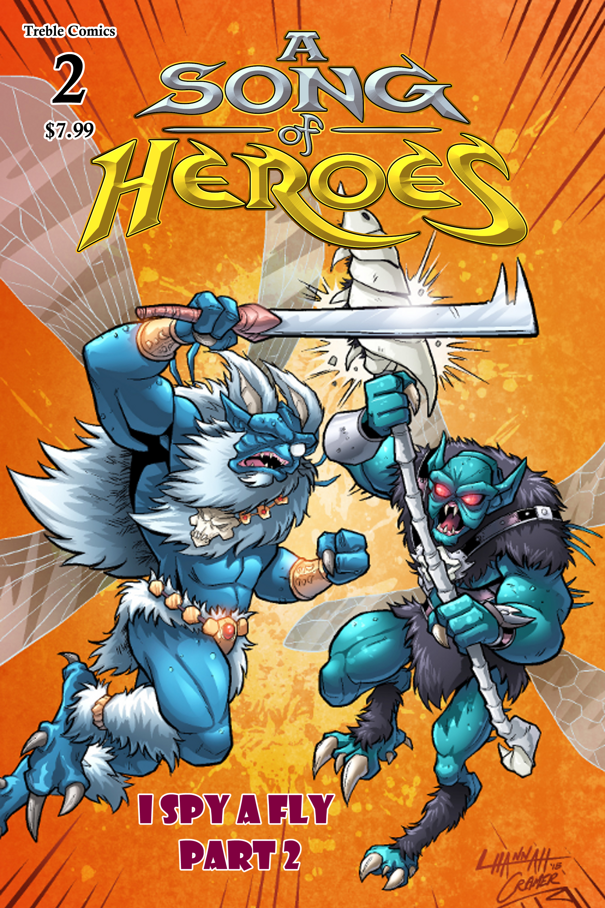 A Song of Heroes – Issue 2 – Cover