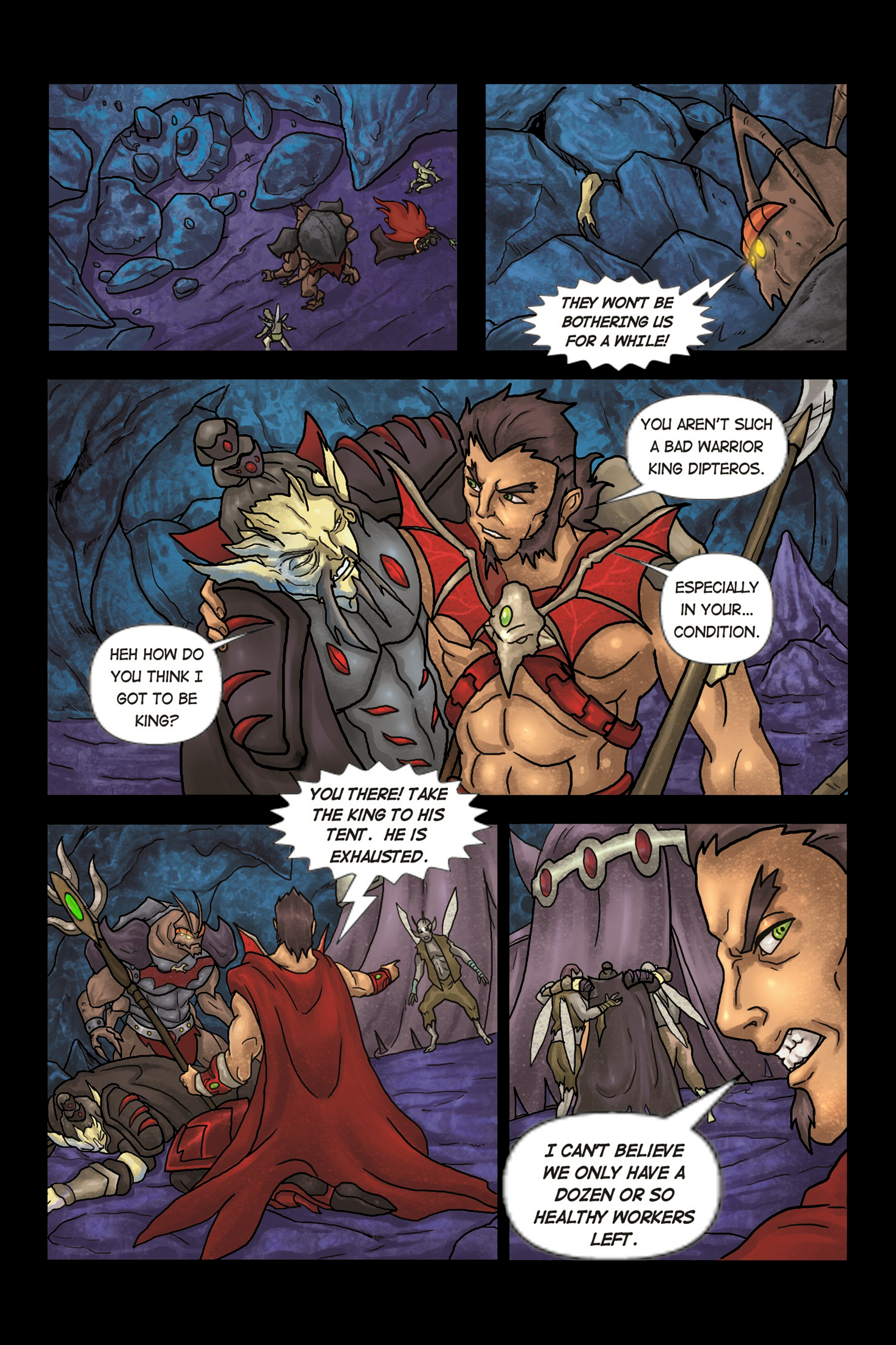 A Song of Heroes – Issue 2 – Page 13