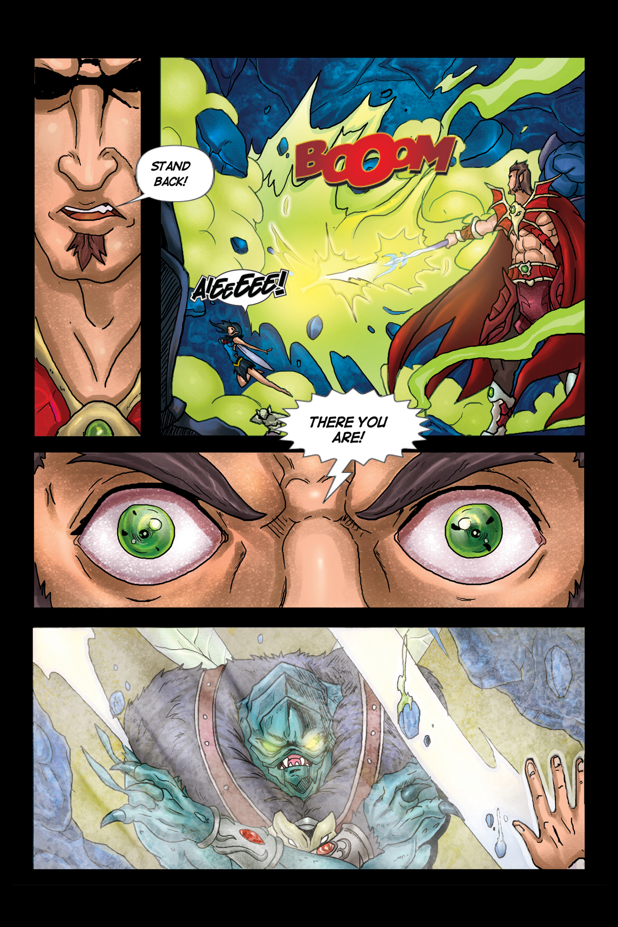ASOH – Issue 2 – Page 16: Red Wizard Finds Spy-fly!