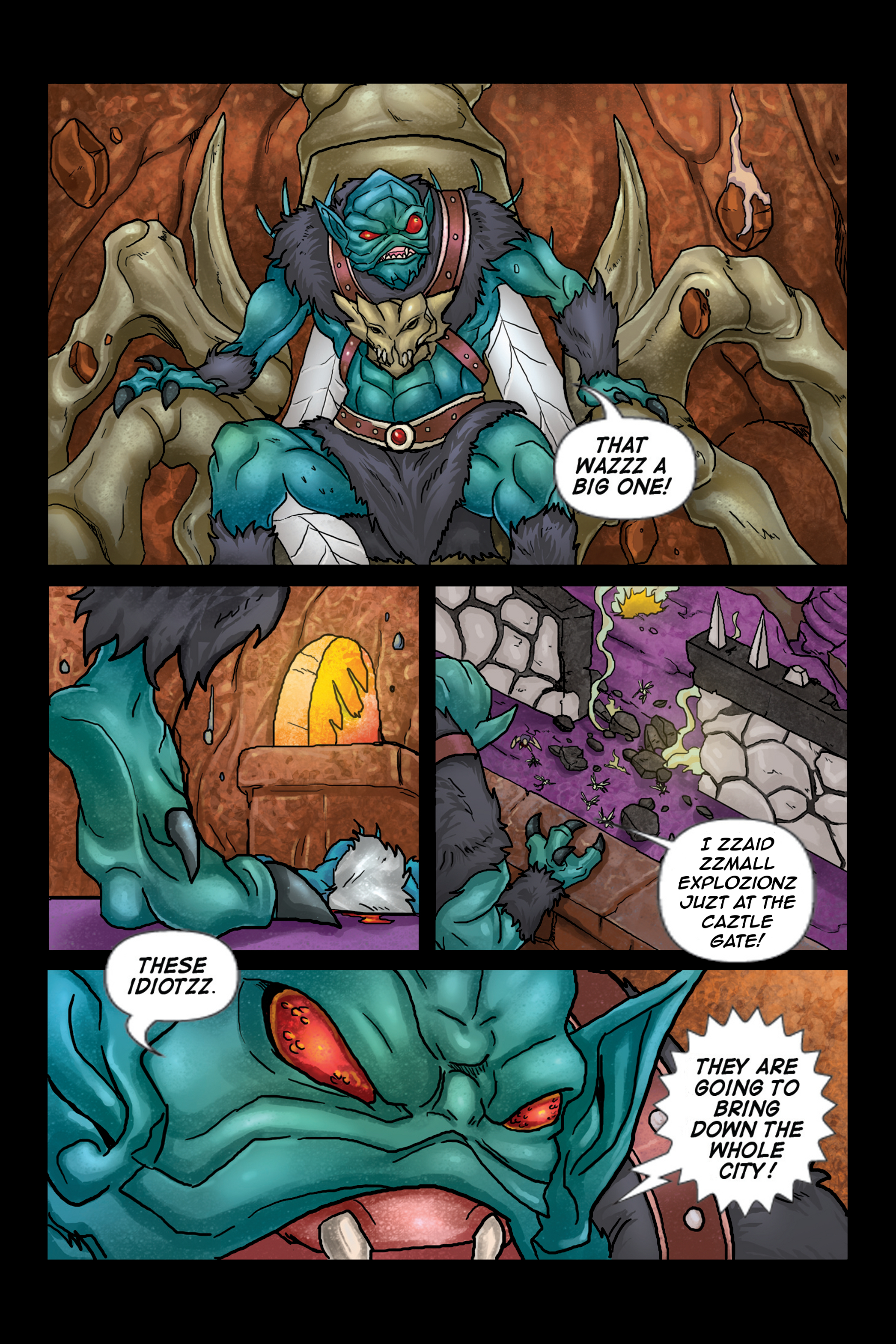 ASOH – Issue 2 – Page 17: Spy-fly Takes Throne!