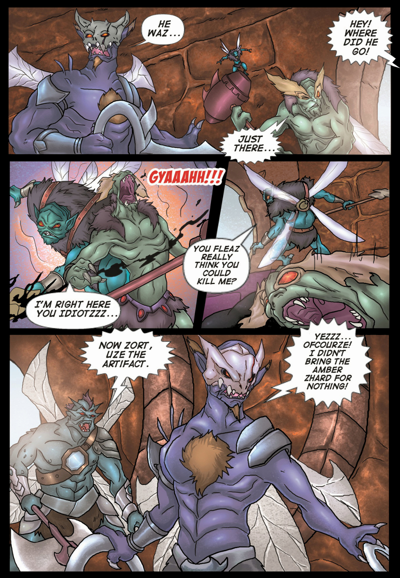 A Song of Heroes – Issue 2 – Page 21
