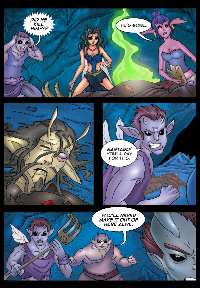 A Song of Heroes – Issue 3 – Page 13